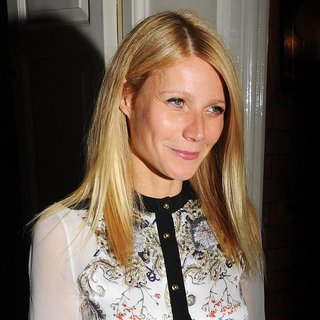 Gwyneth Paltrow in Gwyneth Paltrow Seen Leaving Marks Private Members Club