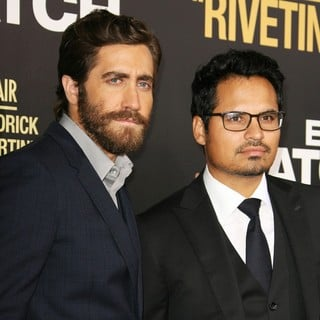 Los Angeles Premiere of End of Watch - gyllenhaal-pena-premiere-end-of-watch-01