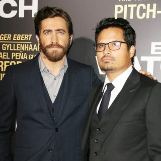 Los Angeles Premiere of End of Watch - gyllenhaal-pena-premiere-end-of-watch-02
