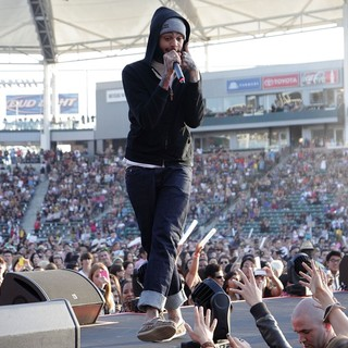 Travis McCoy, Gym Class Heroes in 102.7 KIIS FM's Wango Tango 2012 - Show