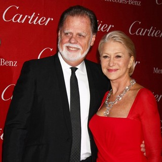 Taylor Hackford, Helen Mirren in 24th Annual Palm Springs International Film Festival Awards Gala - Red Carpet