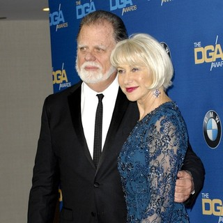Taylor Hackford, Helen Mirren in The 66th Annual DGA Awards - Arrivals