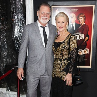 Taylor Hackford, Helen Mirren in The Hitchcock Premiere
