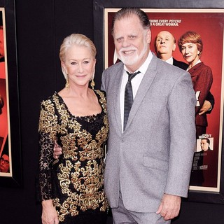Helen Mirren, Taylor Hackford in The Hitchcock Premiere