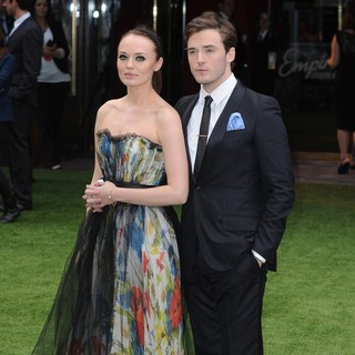 Laura Haddock, Sam Claflin in World Premiere of Snow White and the Huntsman - Arrivals