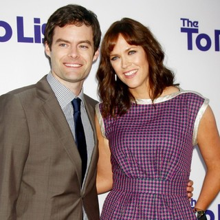 Los Angeles Premiere of The To Do List - hader-carey-premiere-the-to-do-list-01