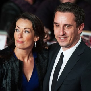 Emma Hadfield, Gary Neville in The World Premiere of The Class of 92 - Arrivals