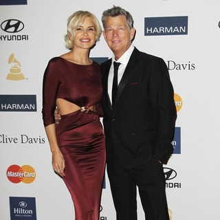 Yolanda Hadid, David Foster in Clive Davis and The Recording Academy's 2013 Pre-Grammy Gala and Salute to Industry Icons