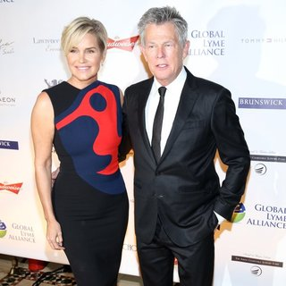 Yolanda Hadid, David Foster in Global Lyme Alliance - Uniting for A Lyme-Free World Inaugural Gala - Red Carpet Arrivals