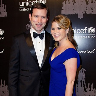 Henry Hager, Jenna Bush in The U.S. Fund for UNICEF Hosts Its Ninth Annual UNICEF Snowflake Ball