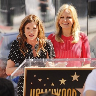 Kathryn Hahn, Malin Akerman in Jennifer Aniston Is Honored with A Star on The Hollywood Walk of Fame