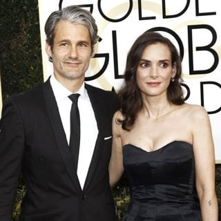 Scott Mackinlay Hahn, Winona Ryder in 74th Golden Globe Awards - Arrivals