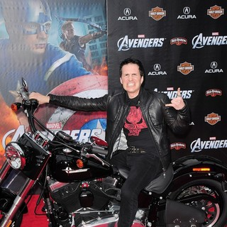 Hal Sparks in World Premiere of The Avengers - Arrivals