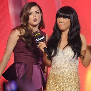 Lucy Hale, Lauren Toyota in 2012 MuchMusic Video Awards - Show