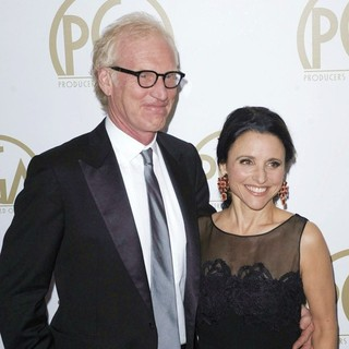 Brad Hall, Julia Louis-Dreyfus in The 25th Annual Producer Guild of America Awards - Arrivals