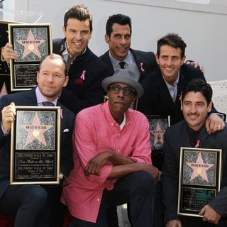 Arsenio Hall, New Kids On The Block in New Kids On The Block on The Hollywood Walk of Fame
