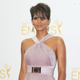 Halle Berry in 66th Primetime Emmy Awards - Press Room