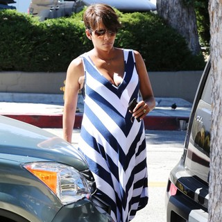 Halle Berry Out Shopping in West Hollywood
