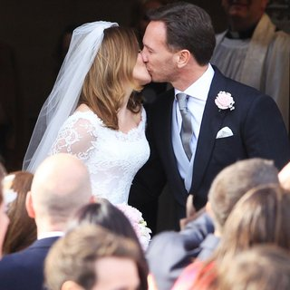 Geri Halliwell, Christian Horner in The Wedding of Geri Halliwell and Christian Horner
