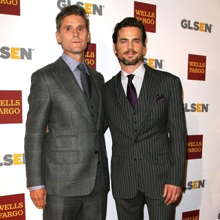Simon Halls, Matthew Bomer in 8th Annual GLSEN Respect Awards - Arrivals