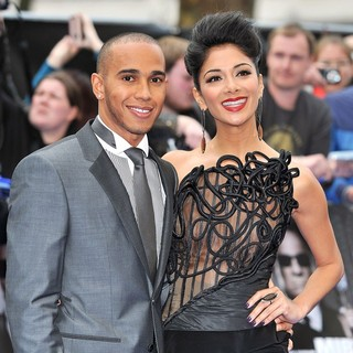 Lewis Hamilton, Nicole Scherzinger in Men in Black 3 - UK Film Premiere - Arrivals