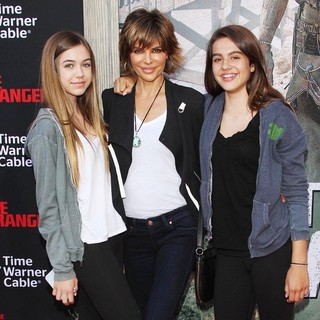 Delilah Hamlin, Lisa Rinna, Amelia Hamlin in The World Premiere of Disney-Jerry Bruckheimer Films' The Lone Ranger
