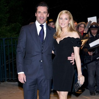 Jon Hamm, Jennifer Westfeldt in The New York Premiere of Friends with Kids