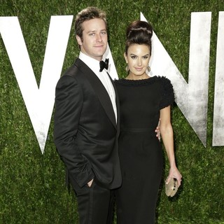 Armie Hammer in 2013 Vanity Fair Oscar Party - Arrivals - hammer-chambers-2013-vanity-fair-oscar-party-02