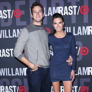 Armie Hammer, Elizabeth Chambers in William Rast for Target Launch Party - Arrivals