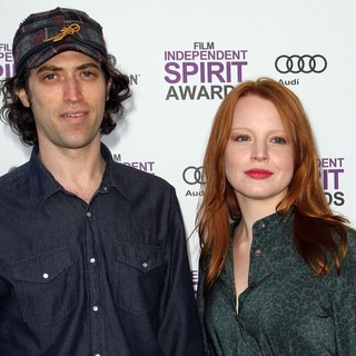 Sam Handel, Lauren Ambrose in 27th Annual Independent Spirit Awards - Arrivals