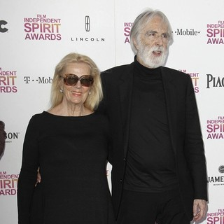 Susanne Haneke, Michael Haneke in 2013 Film Independent Spirit Awards - Arrivals