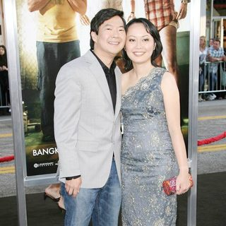 Ken Jeong, Tran Ho in Los Angeles Premiere of The Hangover Part II