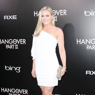 Lindsey Vonn in Los Angeles Premiere of The Hangover Part II