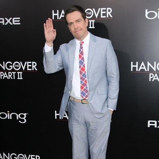 Ed Helms in Los Angeles Premiere of The Hangover Part II