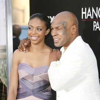 Mike Tyson in Los Angeles Premiere of The Hangover Part II