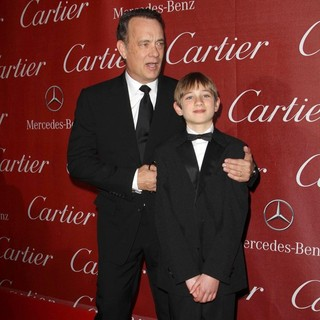 Tom Hanks, Thomas Horn in The 23rd Annual Palm Springs International Film Festival Awards Gala - Arrivals