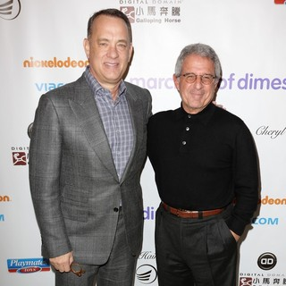 Tom Hanks, Ron Meyer in March of Dimes Celebration of Babies Luncheon - Arrivals