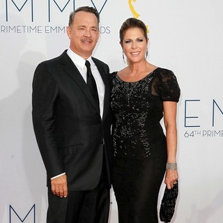 Tom Hanks, Rita Wilson in 64th Annual Primetime Emmy Awards - Arrivals