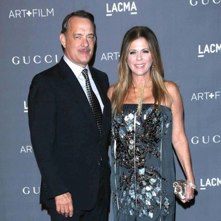 Tom Hanks, Rita Wilson in LACMA 2012 Art + Film Gala - Arrivals