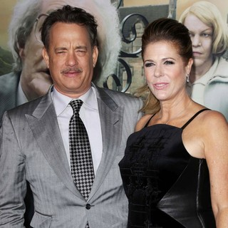 Tom Hanks, Rita Wilson in The Cloud Atlas Los Angeles Premiere