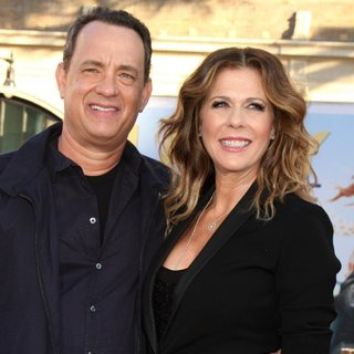 Tom Hanks, Rita Wilson in Larry Crowne Los Angeles Premiere