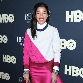 Hannah Bronfman in Beyonce: Life Is But a Dream New York Premiere
