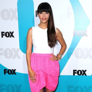 Hannah Simone in 2012 Fox Upfront Presentation - Arrivals