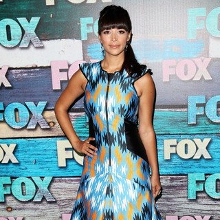 Hannah Simone in Fox All-Star Party - Arrivals
