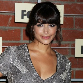 Hannah Simone in FOX Fall Eco-Casino Party