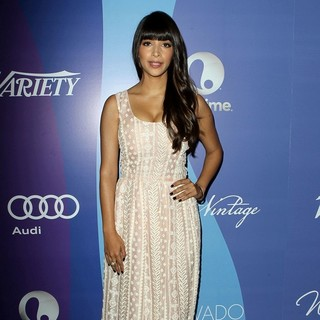 Hannah Simone in Variety's 5th Annual Power of Women Event