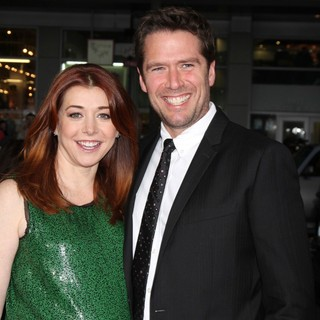 Alyson Hannigan, Alexis Denisof in American Reunion Los Angeles Premiere - Arrivals