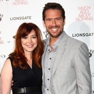 Alyson Hannigan, Alexis Denisof in Los Angeles Premiere Screening of Much Ado About Nothing