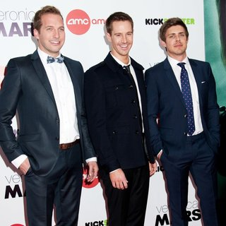 Ryan Hansen, Jason Dohring, Chris Lowell in Veronica Mars Screening - Arrivals