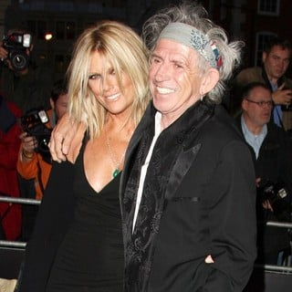 Patti Hansen, Keith Richards in GQ Men of The Year Awards 2011 - Arrivals